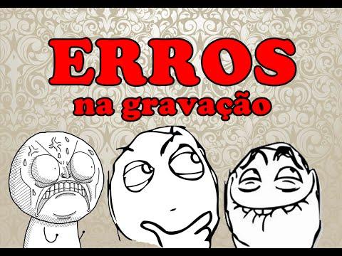 ERROS de GRAVAÇÃO sK DICAS #6