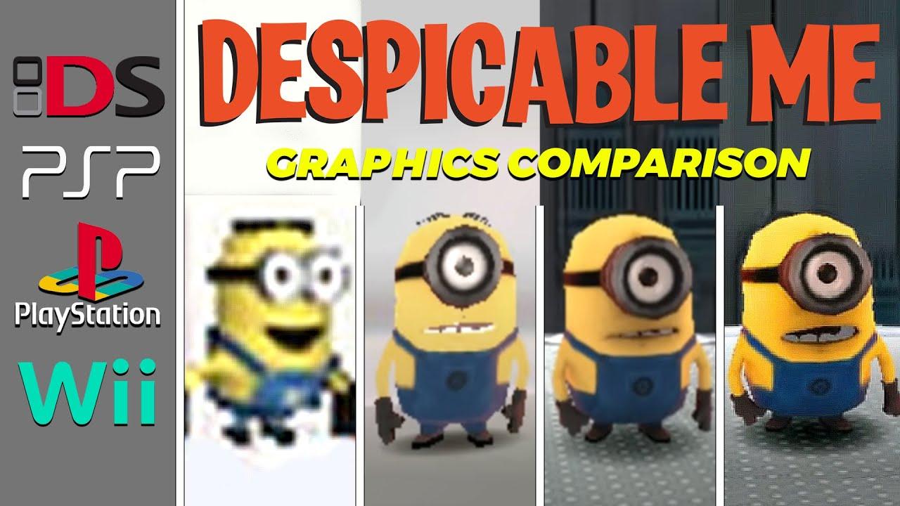 Despicable Me The Game (2010) NDS vs PSP vs PS2 vs Wii (Which One is Better!) | Bao quát các kiến thức liên quan đến tải game despicable me chính xác nhất