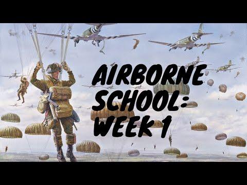 AIRBORNE SCHOOL: Week 1 (Ground Week)