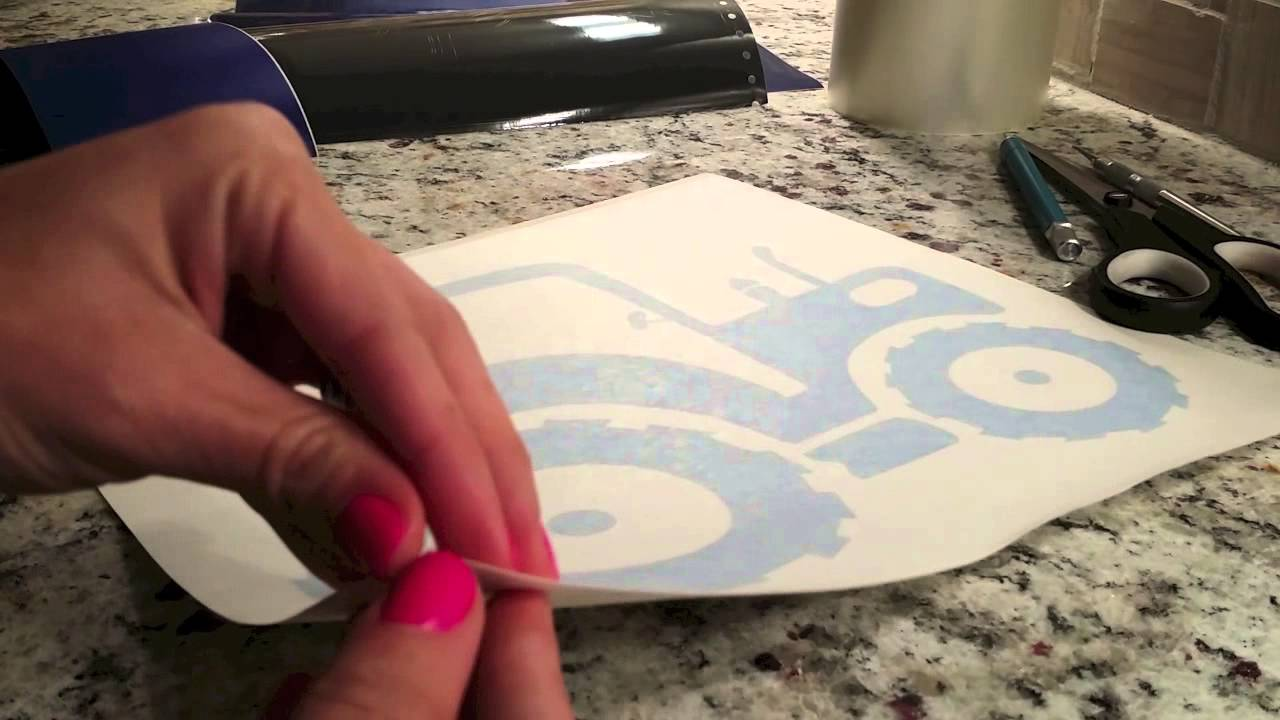 Introduction To Vinyl Weeding Reverse Weeding And Transfer Tape - Transfer tape for vinyl decals
