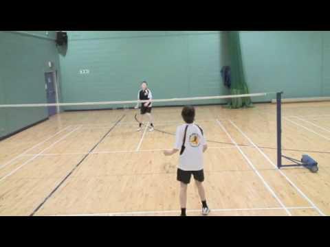 Badminton at the Glasgow School of Sport - Part 1