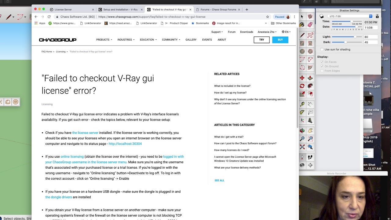 vray Next for Sketchup 2019 version installation