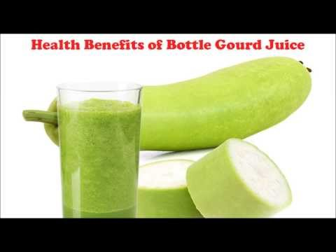 Health Benefits of Bottle Gourd Juice | Lauki Juice for weight loss, High BP, Cholesterol