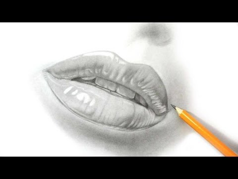 how-i-draw-lips---realistic-pencil-drawing