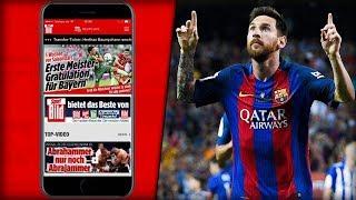 Sport BILD App - App-gefahrene Storys und Videos überall App-rufbar!