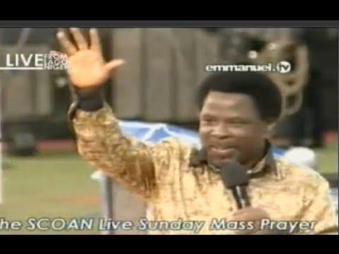 SCOAN 30/11/14: Mass Prayer With TB Joshua. Emmanuel TV ... Emmanuel Tv