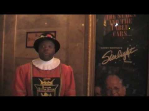Sir Francis Drake Hotel San Francisco - Beefeater Talks About The Starlight Room