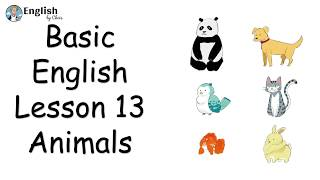 ผู้เริ่มต้น English - Lesson 13 - Animals