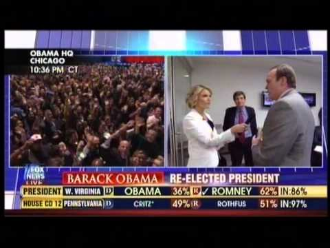 Karl Rove's election night melt-down over Ohio results on Fox News