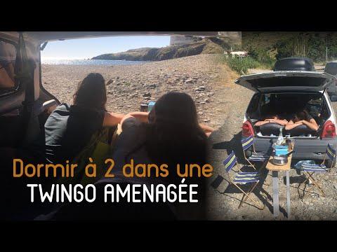"""TWINGO aménagée """"Roadtrip"""" : le plus petit Van au monde ?"""
