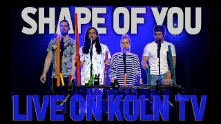 Shape Of You - Live on German TV (Walk off the Earth)
