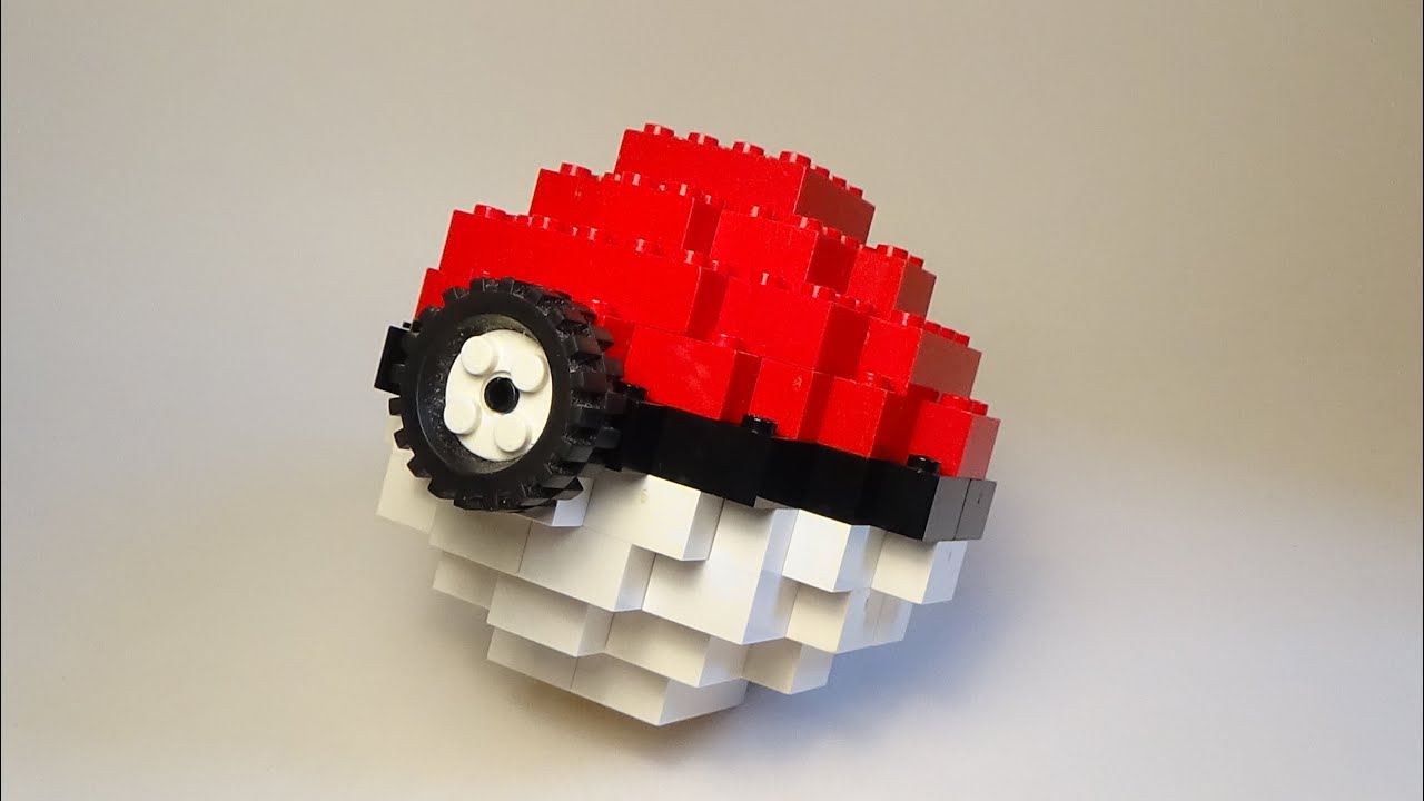Image result for lego pokeball