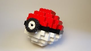 How To Build A Lego Pokeball