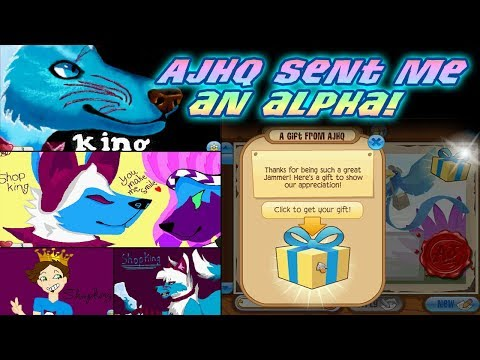Why Did AJHQ Send Me New Alpha Item? Epic Mail Art Animal Jam