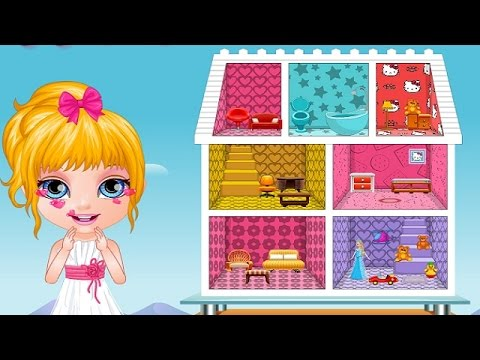 Baby Barbie Doll House Barbie Doll House Decoration Barbie Games For Kids Youtube