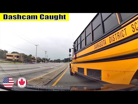 Ultimate North American Cars Driving Fails Compilation - 274 [Dash Cam Caught Video]