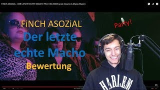 FiNCH ASOZiAL - DER LETZTE ECHTE MACHO FEAT. BiG MiKE | BEWERTUNG/Reaction #yopinion
