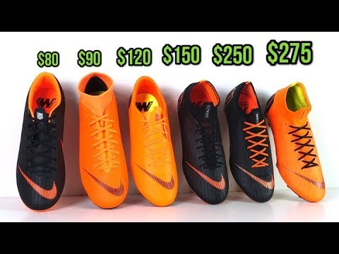 bbe39da42c2 CHEAP VS EXPENSIVE! - WHICH NIKE MERCURIAL SHOULD YOU BUY? (Vapor 12 vs  Superfly 6)