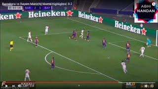 Fc barcelona vs bayern munich all goals & highlights champions league watch the full highlight of a match munic...