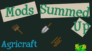 Agricraft Summed Up