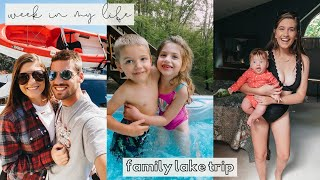Family Trip to the Lake - WEEK IN MY LIFE | EMandKids