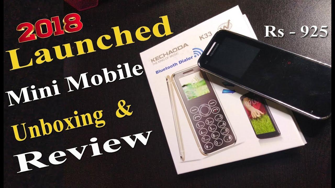 Kechaoda K33 Mini Mobile Unboxing & Honestly Review ( in Hindi ) By Digital  Bihar ||