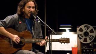 Eddie Vedder ~ Times Of Trouble (Acoustic - with interview at start)
