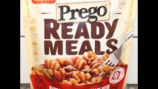 Prego Ready Meals: Marinara & Italian Sausage Rotini Review