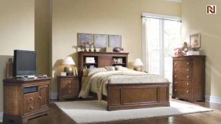 Lea 816-955 5/0 Queen Bookcase Headboard From Lea Elite Classics