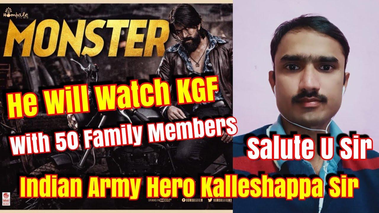 Indian Army Hero Kalleshappa From Davanagere Karnataka Will Watch