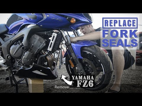 How to Replace Fork Seals | Yamaha FZ6