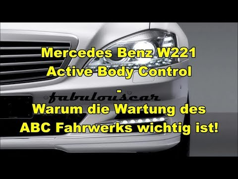 abc active body control fahrwerk wartung hydraulik l. Black Bedroom Furniture Sets. Home Design Ideas