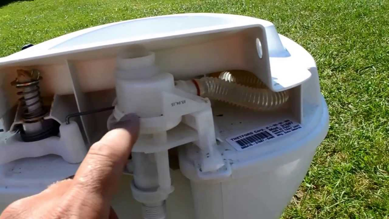 RV Leaky Toilet repair