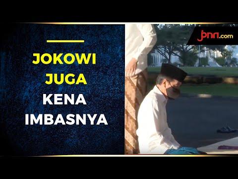 Jokowi Juga Kena Imbas Akibat Pandemi Corona