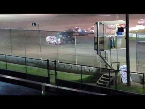 Bridgeport Speedway feature 7/2/17. Finished 3rd