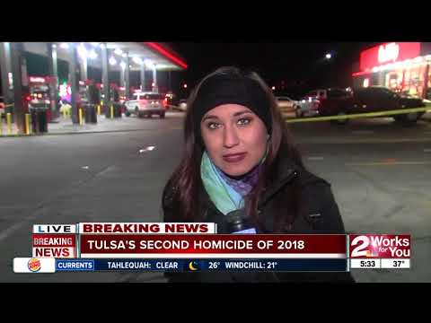 Tulsa Police investigate second homicide of the year