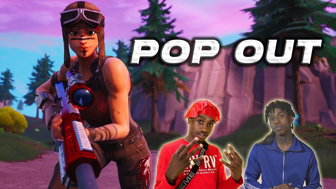 """Obey Fortnite Squad Montage - """"POP OUT"""" (Polo G & Lil Tjay)"""