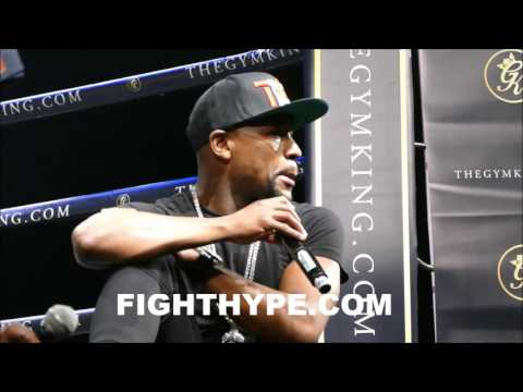 FLOYD MAYWEATHER ON WHO HIT HIM THE HARDEST AND TOUGHEST FIGHT; ANSWERS FAN QUESTIONS
