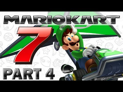 Let's Play Mario Kart 7 - Part 4 (Rainbow Road)