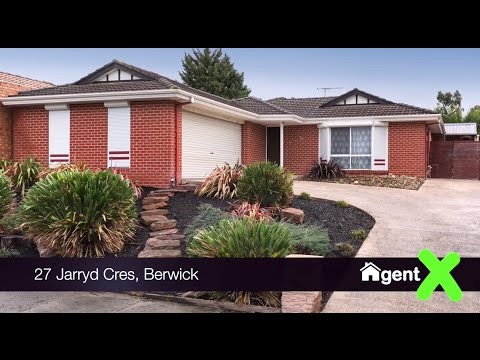 AgentX Real Estate Berwick Presents - 27 Jarryd Crescent Berwick Property Tour