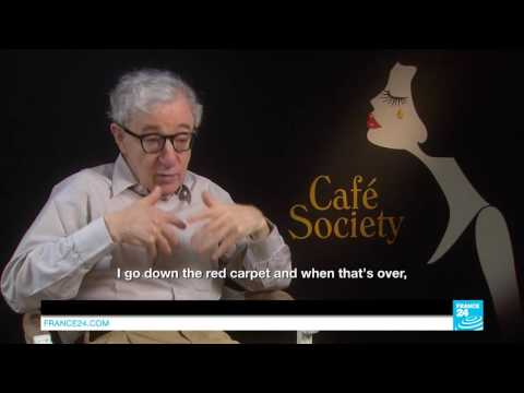 Cannes 2016 - Interview with Woody Allen: 'I cannot escape my film at Cannes'