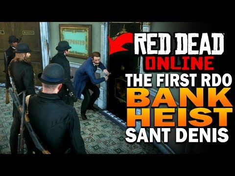 Red Dead Online Update! Saint Denis Bank Heist! - Red Dead Redemption 2