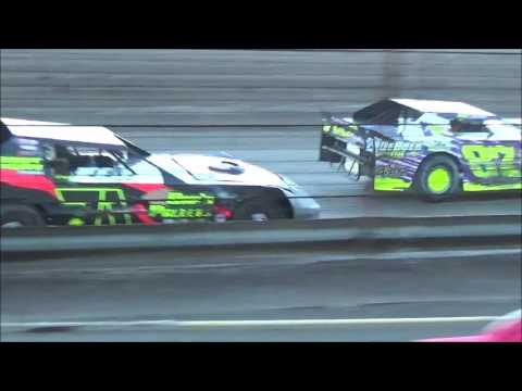 LMSS TOURING SERIES HEAT 1 NOBLES COUNTY SPEEDWAY AUGUST 14,2016