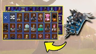 FROZEN IRON CAGE ON ALL SKINS (145) | Fortnite Battle Royale