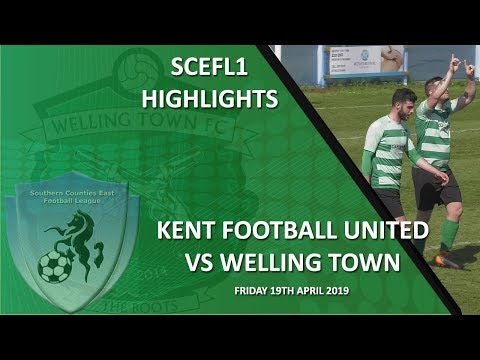 HIGHLIGHTS - Kent Football United 0-3 Welling Town