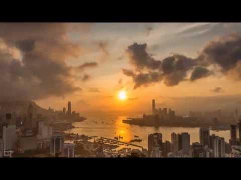 Hong Kong Braemar Hill Sunset Timelapse-寶馬山日落