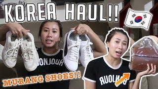 KOREA SHOPPING HAUL!! (Pasalubong, Bag, SHOES!!) + THE NEW foodpanda CEBU! ❤️