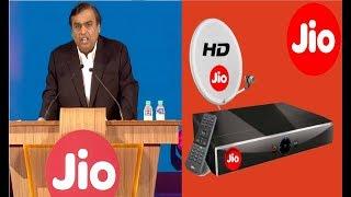 खुशखबरी JIO DTH हुआ लांच,3 महीने तक 600 HD चैनल बिल्कुल फ्री