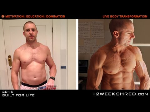 Body Transformation: Before/After using the 12 WEEK SHRED PROGRAM - YouTube