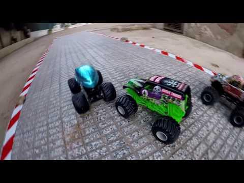 Campeonato  Monster Jam 6 pruebas Hot Wheels Express
